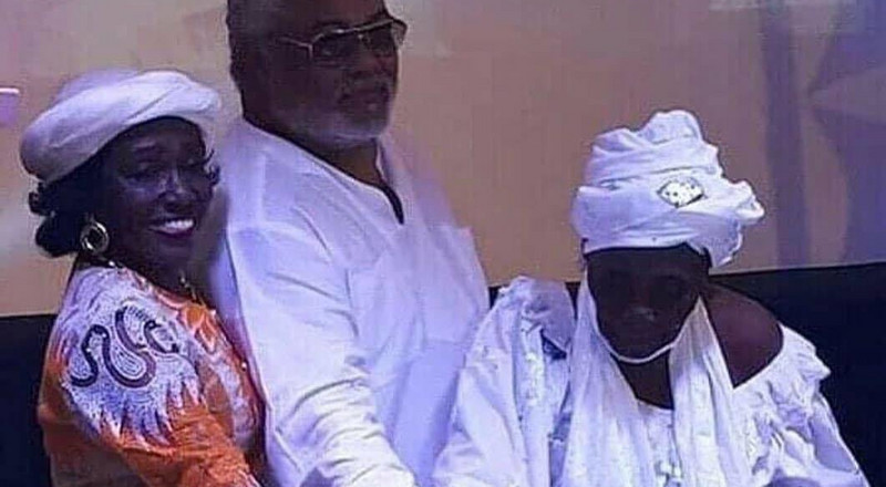 Jerry John Rawlings' mother celebrates 101st birthday