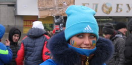 Piękne Ukrainki na barykadach