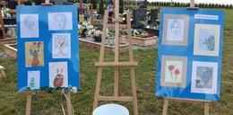 Przed pogrzebem Kristiny pokazano jej prace