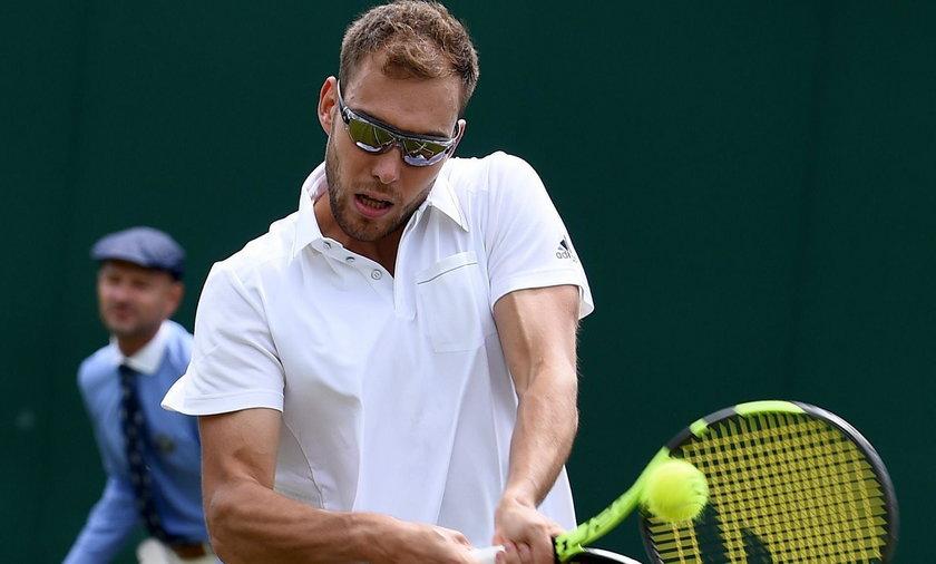 Jerzy Janowicz w 3. rundzie turnieju w Wimbledonie
