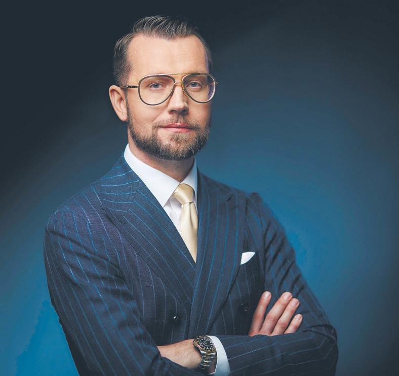 Dawid Jakubowicz, prezes Ciechu  fot. Dariusz Iwański/mat. prasowe