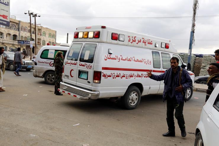 Hitna pomoć Jemen Sana EPA YAHYA ARHAB