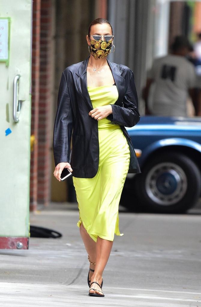 Irina Šajk i njeno modno izdanje iz Njujorka