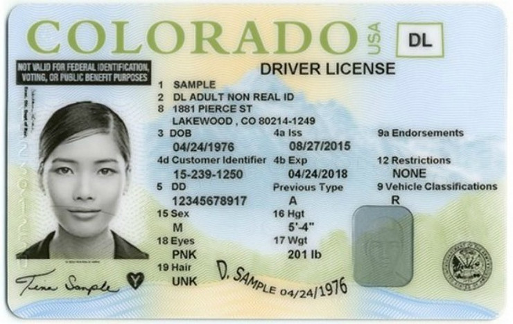 kolorado foto Promo Colorado Department of Motor Vehicles