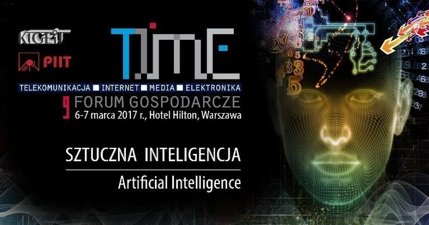 9. Forum Gospodarcze TIME. Sztuczna Inteligencja - kolejny etap rewolucji przemysłowej [RELACJA]