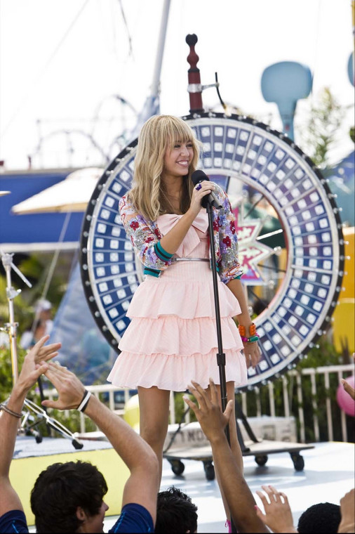 "Miley Cyrus w filmie ""Hannah Montana. Film"" (reż. Peter Chelsom)"