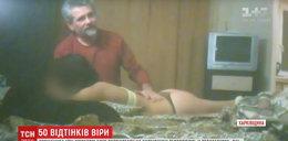 Duchowny wypędza diabła z prostytutek. FILM