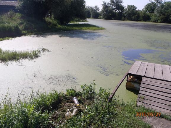 Mesto gde kajakaši silaze u vodu i započinju trening