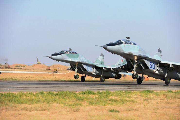ARHIVA, Asuluk, Rusija 09.10.2015. Vežba ruskih i srpskih pilota lovačkih aviona MiG-29, BARS