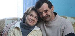 Zakochana para Wiesław i Barbara