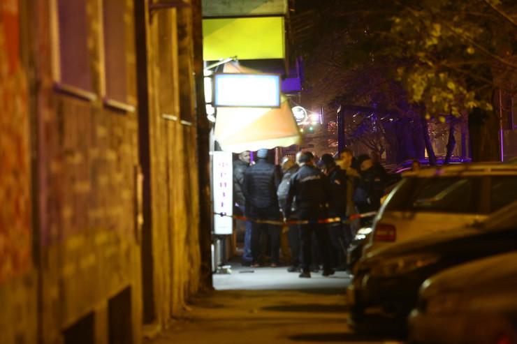 Zemun, ubistvo ispred kozmetičkog salona, Ulica 22. oktobra