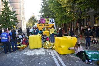 Aktywiści Greenpeace zablokowali gmach Ministerstwa Aktywów Państwowych
