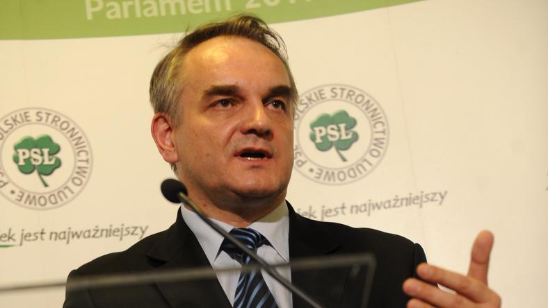 Wicepremier Waldemar Pawlak,fot.PAP/Bartłomiej Zborowski