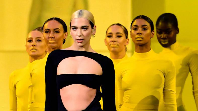 Dua Lipa na MTV Europe Musi Awards 2019