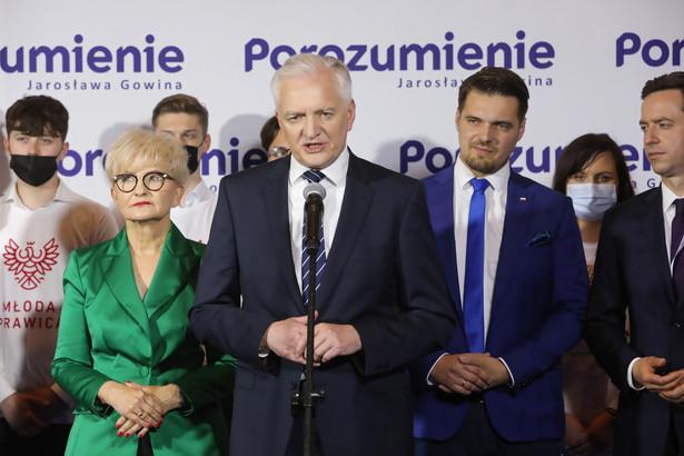 Jarosław Gowin został wybrany prezesem Porozumienia na na kolejną kadencję.