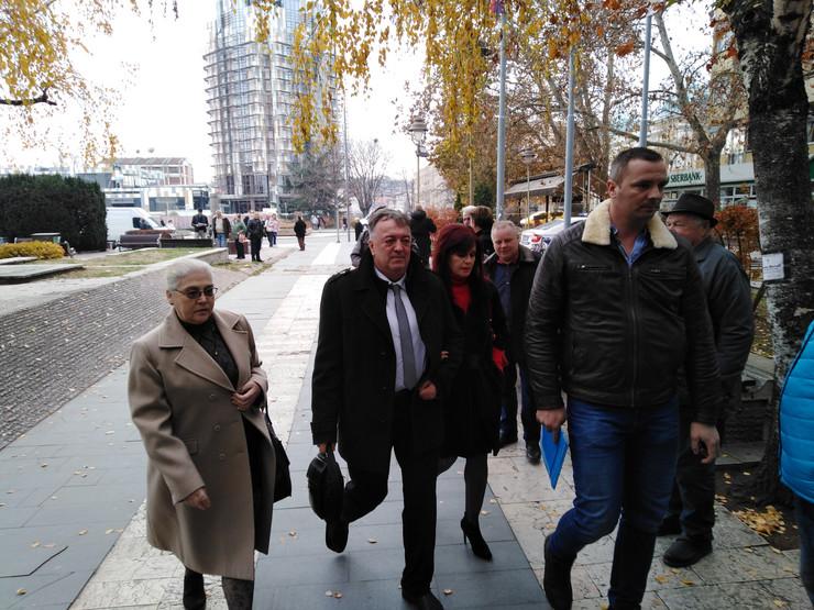 Milutin Jelićić Jutka dolazi na suđenje