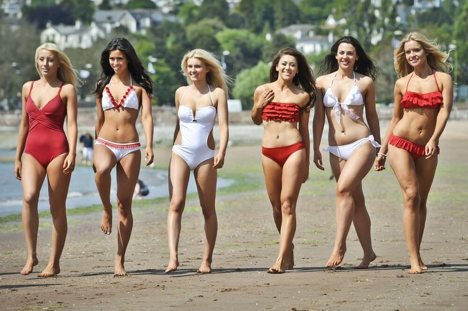 Kandydatki do tytułu Miss Anglii