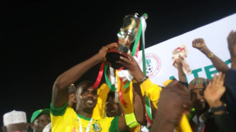 Kano Pillars win 2019 AITEO Cup title (Twitter/Kano Pillars)