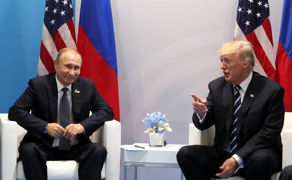 Vladimir Putin i Donald Tramp