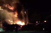 barselona festival požar, prtscn youtube