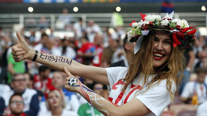 epa06881084 - RUSSIA SOCCER FIFA WORLD CUP 2018 (Semi Final Croatia vs England)