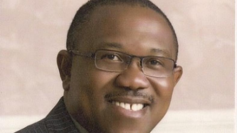 Ex-Governor of Anambra state- Peter Obi