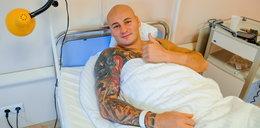Artur Szpilka już po operacji