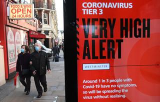 Nowy wariant koronawirusa w Wielkiej Brytanii. Możliwe są dalsze restrykcje