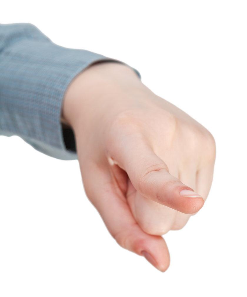 Wskazywanie palcem