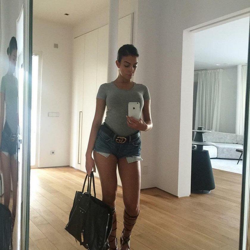 Georgina Rodriguez w Uno Models. Dziewczyna Cristiano Ronaldo modelką