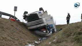 Tragiczny wypadek ciężarówki na Śląsku