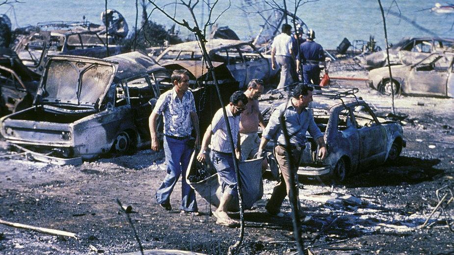Tragiczna eksplozja cysterny na kempingu Los Alfaques w Alcanar (Hiszpania), 11 lipca 1978 r.