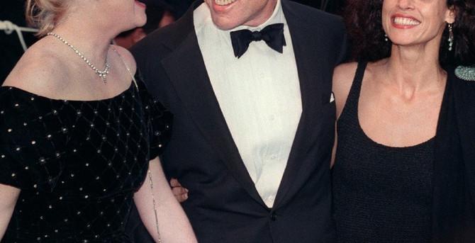 Robert Redford sa koleginicom i partnerkom
