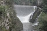 Velilka brana u kanjonu reke Đetinje
