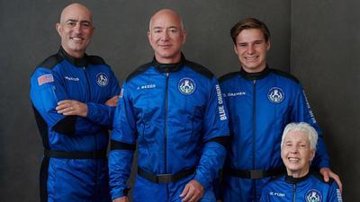 """Bezos dziękuje klientom i pracownikom Amazona za lot w kosmos. """"To wy za to zapłaciliście"""""""