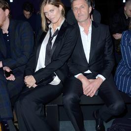 Małgorzata Bela i Paweł Pawlikowski podczas Paris Fashion Week. Wyglądają na szczęśliwych i zakochanych!