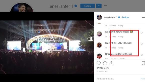 Komentari Denverovih navijača na poslednju objavu Enesa Kantera
