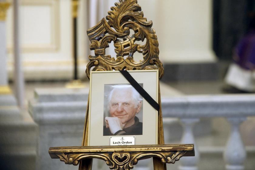 Pogrzeb Lecha Ordona