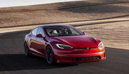 Tesla's Model S Plaid.