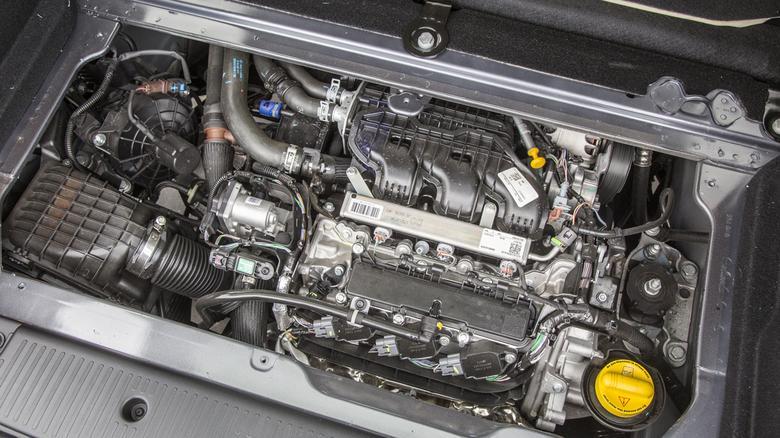 Renault Twingo GT jako jedyny występuje ze 109-konnym silnikiem.