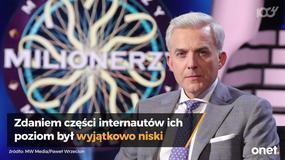 """""""Milionerzy"""" znów w TVN. Widzowie komentują pytania z programu"""