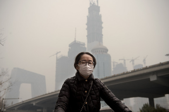 U Pekingu su nano maske uobičajen deo autfita
