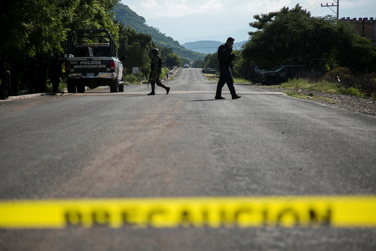 meksiko policija