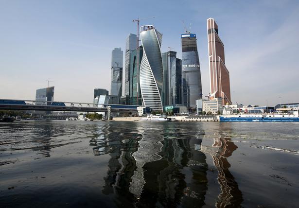 Rosja, finansowe centrum Moskwy