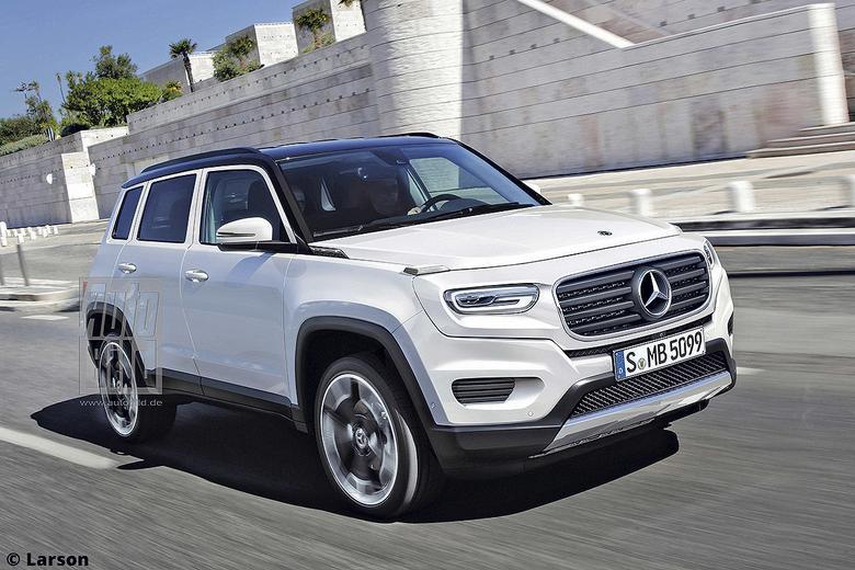 Mercedes GLG - wizja