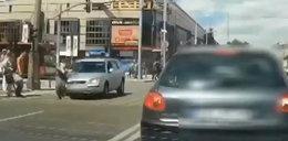 Wypadek w Częstochowie. Drastyczne nagranie!