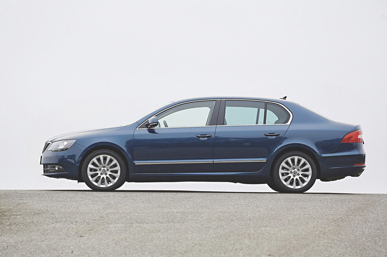 Skoda Superb 2.0 TDI.