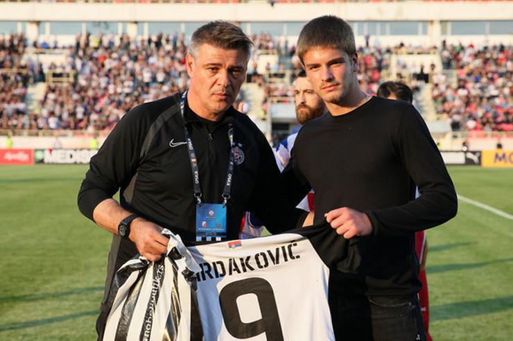Savo Milošević i Uroš Mrdaković