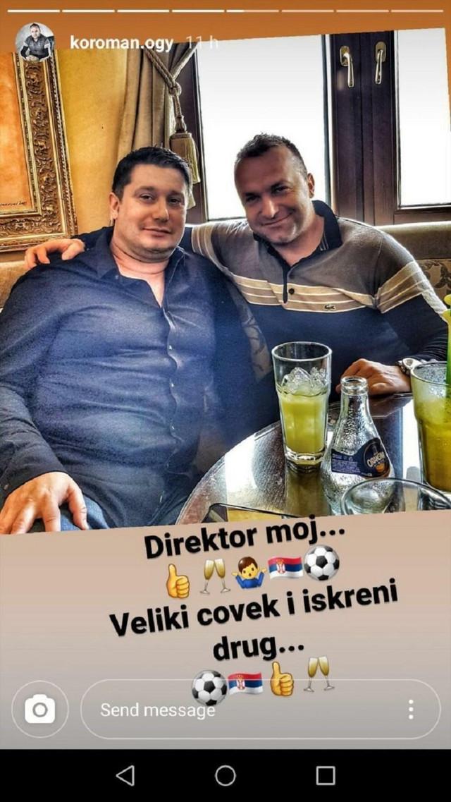 Ognjen Koroman i Ivan Adžić