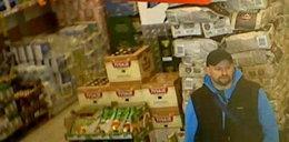 Ten bandyta napadł na sklep. Poznajesz go?